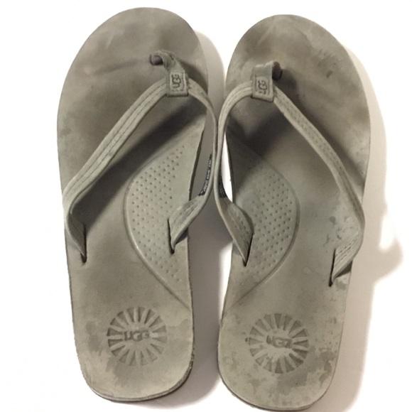 a03c04923ab Ugg Kayla Charcoal Thong Flip Flop Sandals